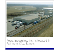 The Petra Companies are a network of chemical companies who provide high-quality chemical products including dry blending, toll manufacturing, and liquid blending.
